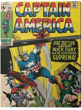Leinwand Poster Captain America - Superman