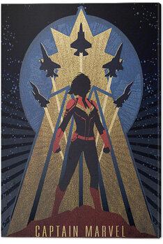 Leinwand Poster Captain Marvel - Deco