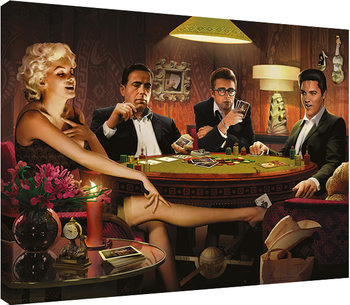 Leinwand Poster Chris Consani - Four Of A Kind