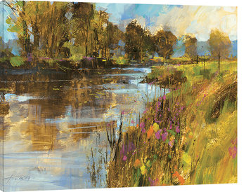 Leinwand Poster Chris Forsey - Spring River