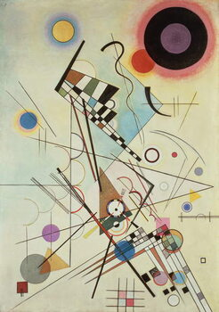 Leinwand Poster Composition 8, 1923