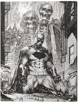 Leinwand Poster DC Comics - Batman Haunted