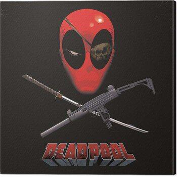 Leinwand Poster Deadpool - Eye Patch