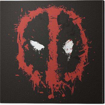 Leinwand Poster Deadpool - Splat