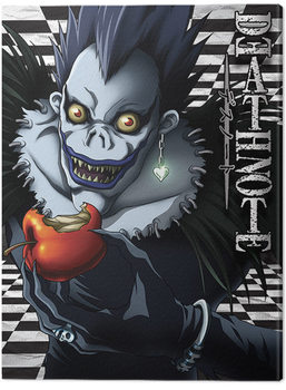 Leinwand Poster Death Note - Ryuk Checkered