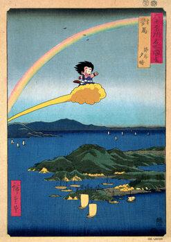 Leinwand Poster FLOATING NIMBUS