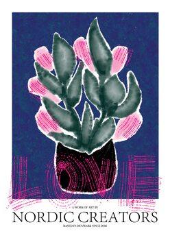 Leinwand Poster Flowers Love