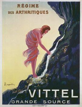 Leinwand Poster Advertisement for Vittel Grande Source, 1911