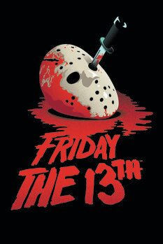 Leinwand Poster Friday the 13th - Blockbuster