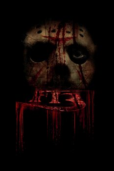 Leinwand Poster Friday the 13th - In the shadow