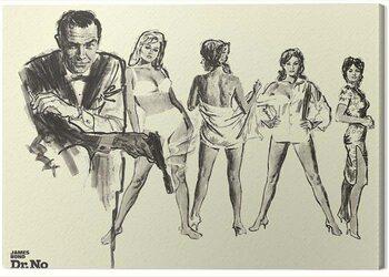Leinwand Poster James Bond - Dr. No