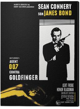 Leinwand Poster James Bond - Goldfinger - Window