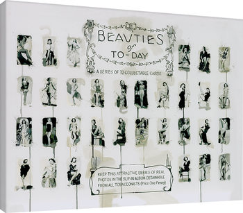 Leinwand Poster James Paterson - Beauties of To-Day