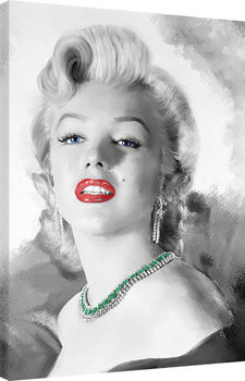 Leinwand Poster Jerry Michaels - Diamonds Are A Girls Best Friend