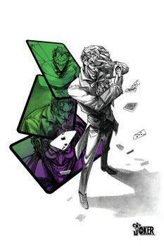 Leinwand Poster Joker - Player