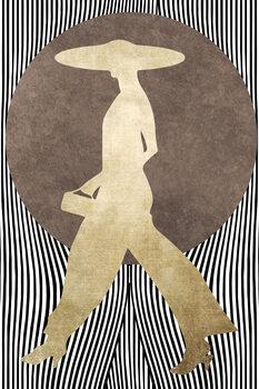 Leinwand Poster La Madame Noir