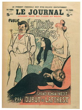Leinwand Poster 'La Traite des Blanches'