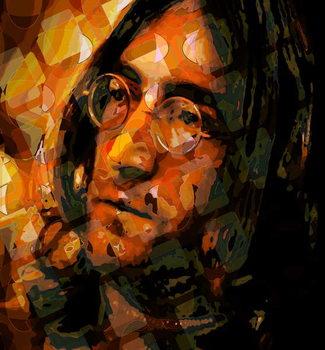 Leinwand Poster Lennon, 2012