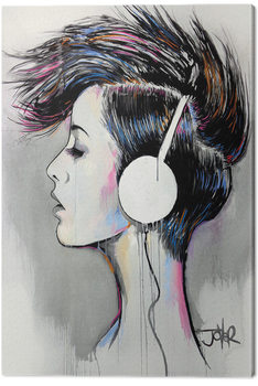 Leinwand Poster Loui Jover - Inner Beat