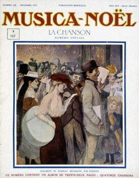 "Leinwand Poster Magazine """" musica Noel"""""