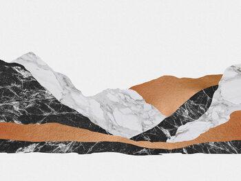 Leinwand Poster Marble Landscape I