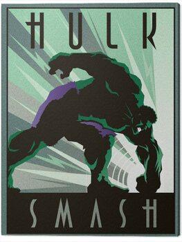 Leinwand Poster Marvel - Hulk