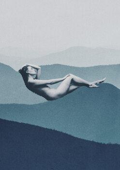 Leinwand Poster Mindful solitude