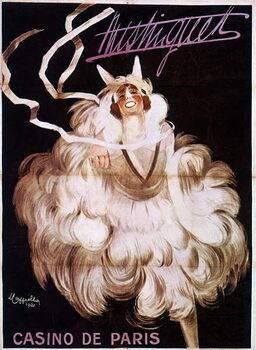 Leinwand Poster Mistinguett at the Casino de Paris