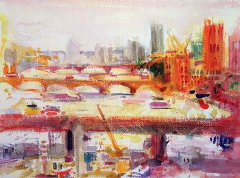 Leinwand Poster Monet's Muse, 2002