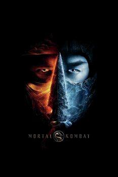 Leinwand Poster Mortal Kombat - Two faces