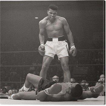 Leinwand Poster Muhammad Ali - Ali vs Liston