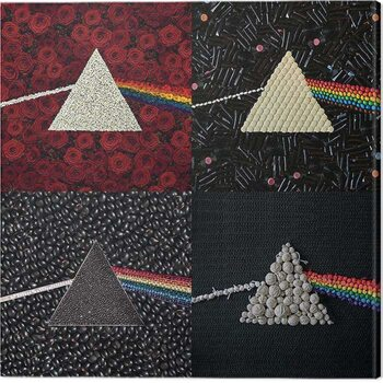 Leinwand Poster Pink Floyd - Dark Dide of the Moon Collections