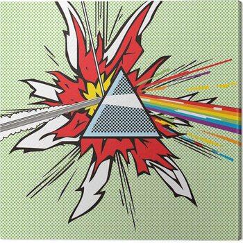 Leinwand Poster Pink Floyd - Dark Side of the Moon Pop Art