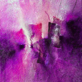 Leinwand Poster pink tidal rhythms