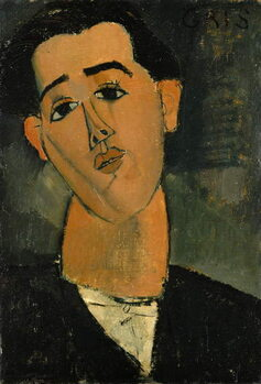 Leinwand Poster Portrait of Juan Gris (1887-1927) 1915