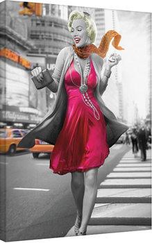 Leinwand Poster Jadei Graphics: Monroe - New York Walk