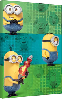 Leinwand Poster Minions (Despicable Me - Team