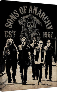 Leinwand Poster Sons of Anarchy - Reaper Crew