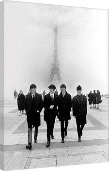 Leinwand Poster The Beatles - Paris