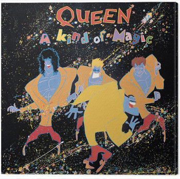 Leinwand Poster Queen - A Kind of Magic