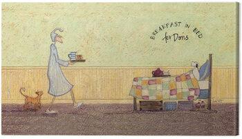 Leinwand Poster Sam Toft - Breakfast in bed for Doris