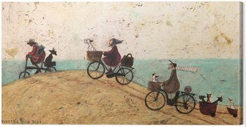 Leinwand Poster Sam Toft - Electric Bike Ride