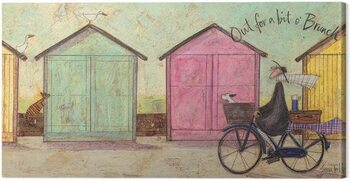 Leinwand Poster Sam Toft - Out for a bit O Brunch