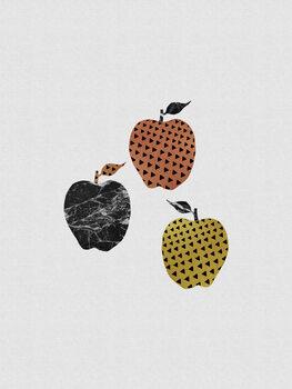 Leinwand Poster Scandi Apples