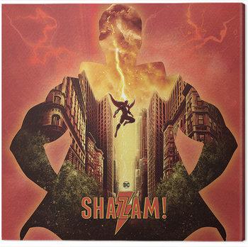 Leinwand Poster Shazam - Shake The Heavens