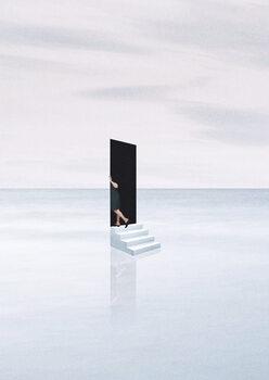 Leinwand Poster Silent escape