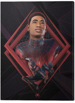 Leinwand Poster Spider-Man Miles Morales - Be Greater