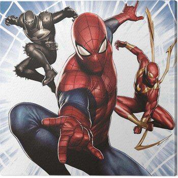 Leinwand Poster Spider-Man - Trio