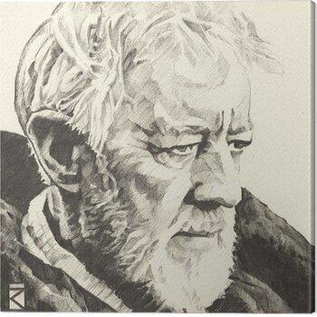Leinwand Poster Star Wars - Obi-Wan Kenobi