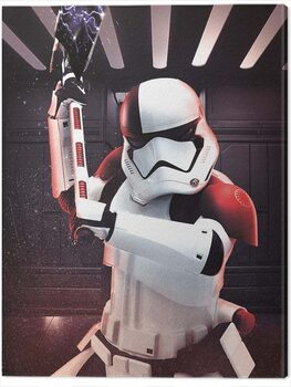 Leinwand Poster Star Wars The Last Jedi - Executioner Trooper